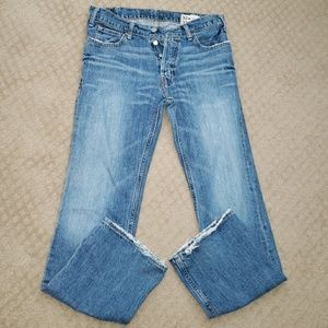Hollister Boomer Slim Boot Jeans 32x32 Low Rise
